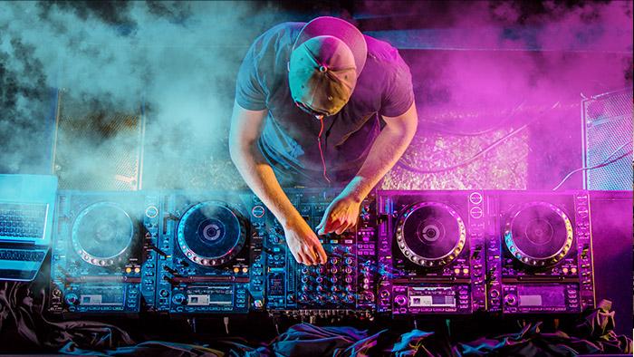 Un festival de musique au Skylodge