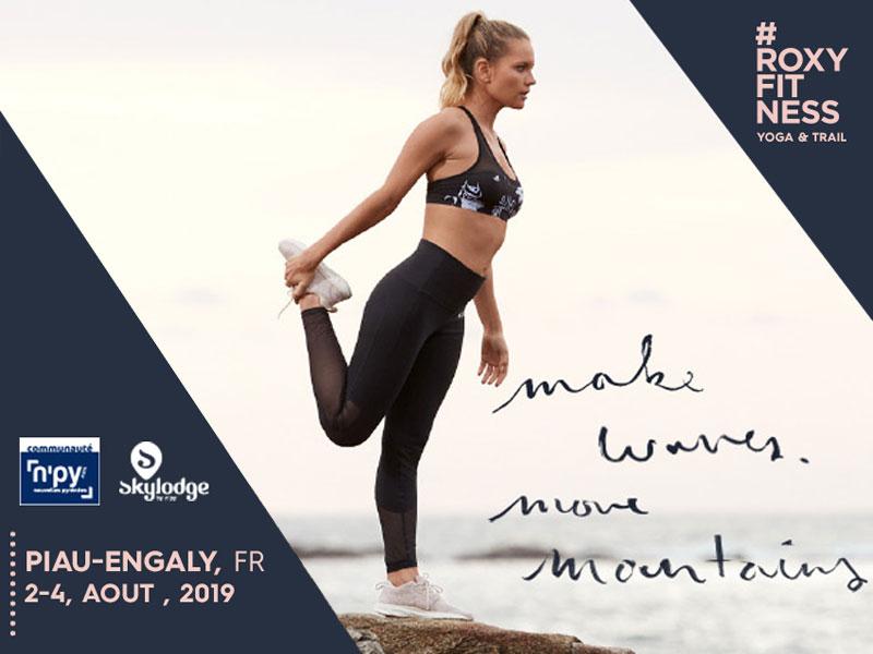 Make Waves Move Mountains - Yoga & Trail à Piau